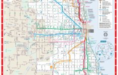 Printable Map Of Downtown Chicago Streets