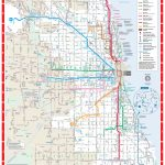 Web Based System Map   Cta With Printable Map Of Downtown Chicago