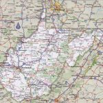West Virginia Road Map Within Printable Map Of West Virginia