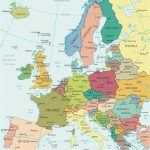 Western Europe Map Printable Best Printable Maps Western Europe Intended For Printable Map Of Western Europe