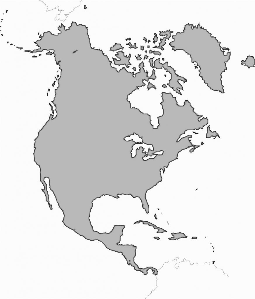 Western Hemisphere Maps Printable Guvecurid Outline Map Of North inside Western Hemisphere Map Printable