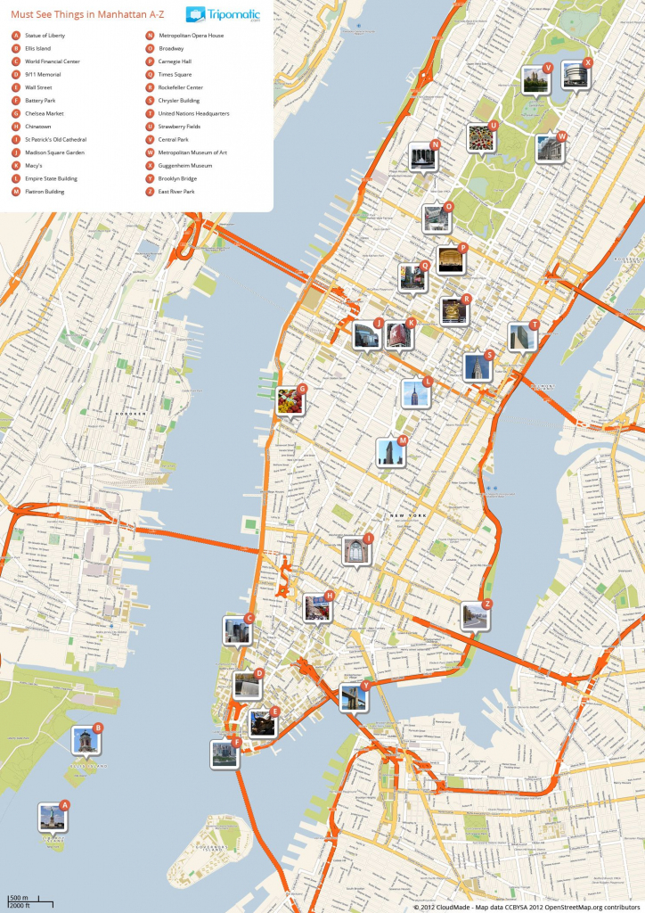 What To See In New York City In 2019 | Places | New York City in Printable Map Of New York