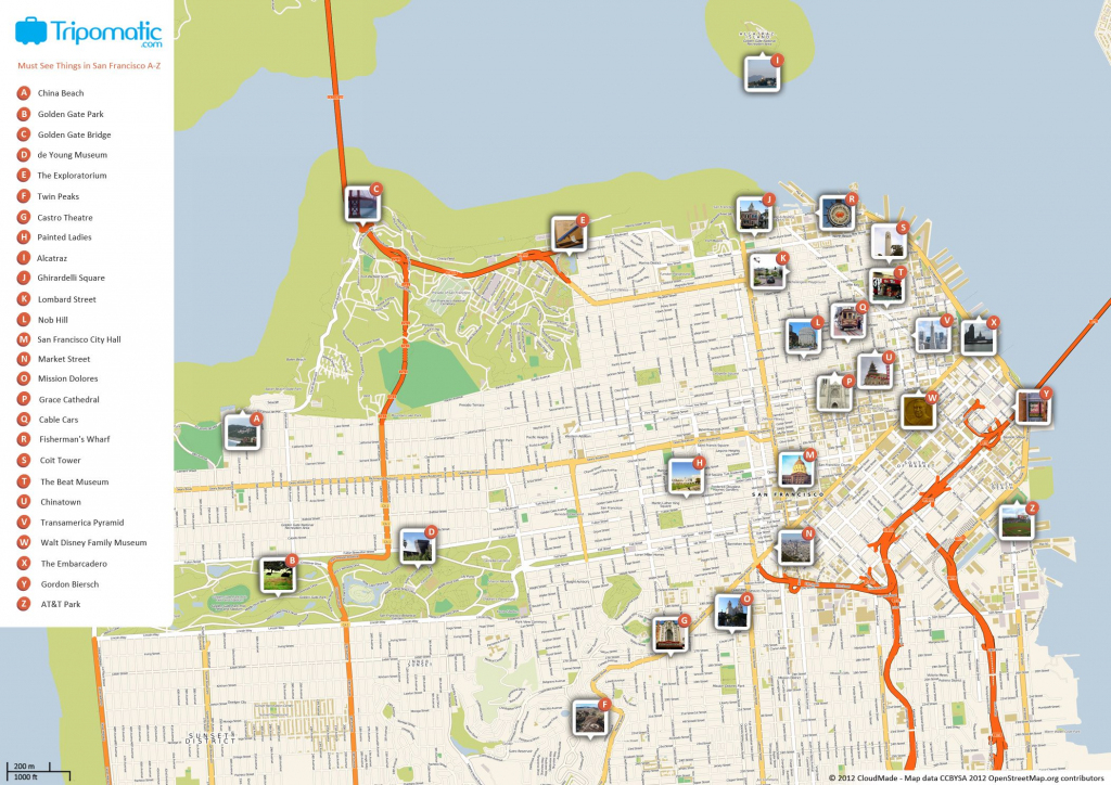 What To See In San Francisco | Travel! | San Francisco Attractions regarding Printable Map Of Chinatown San Francisco