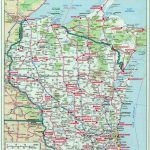 Where Is Wisconsin On Us Map Wi Largemap Beautiful Amazing Us Map Throughout Wisconsin Road Map Printable