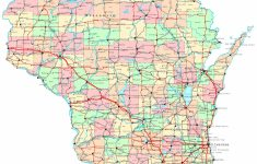Printable Map Of Wisconsin Cities