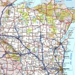 Wisconsin Road Map Regarding Printable Map Of Wisconsin