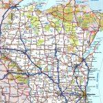 Wisconsin Road Map Regarding Printable Map Of Wisconsin