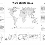World Climate Zones For Kids Worksheets   Google Search | Weather For Weather Map Worksheets Printable