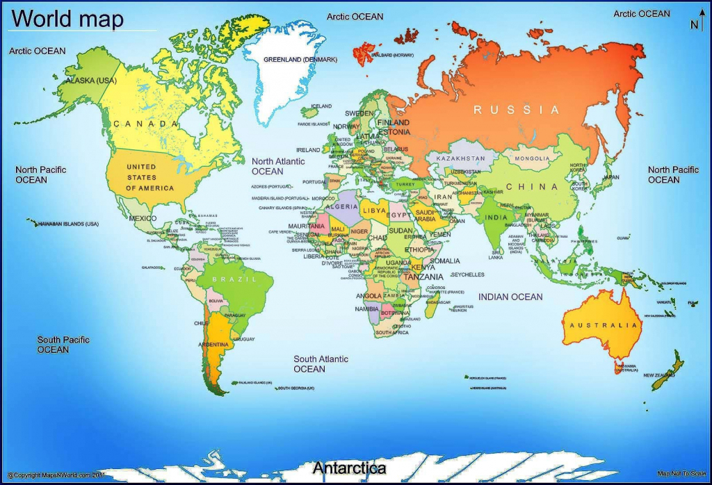 World Map 13 In Printable 4 - World Wide Maps in Printable World Map