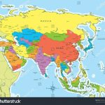 World Map Asia Capitals Valid Countries And Capital New Of With For Printable Map Of Asia
