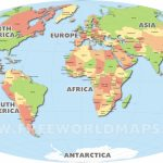 World Map Country Names Capitals Fresh List Countries The World For Free Printable World Map With Country Names