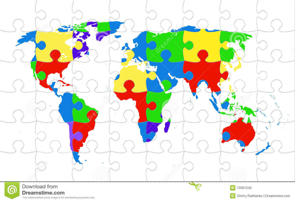 World Map Online Puzzle | World Maps With Countries with World Maps Online Printable