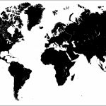 World Map Outline Free Copy Printable Tattoo Google Search | Maps Throughout Free Printable Large World Map Poster