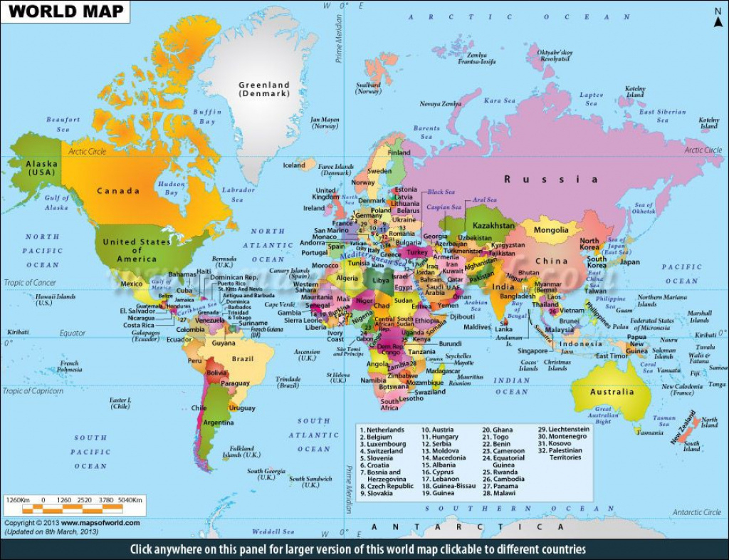 World Map Poster Large Printable Awesome Maps Of World In My Opinion pertaining to Free Printable World Maps Online