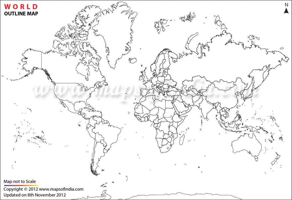 World Map Printable, Printable World Maps In Different Sizes within Printable Outline Maps