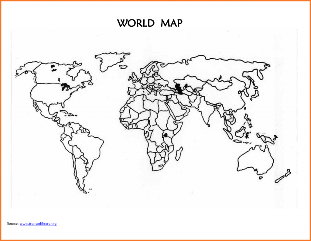World-Map-Template-Printable-Blank-World-Map-Countries_294994 World regarding Empty World Map Printable