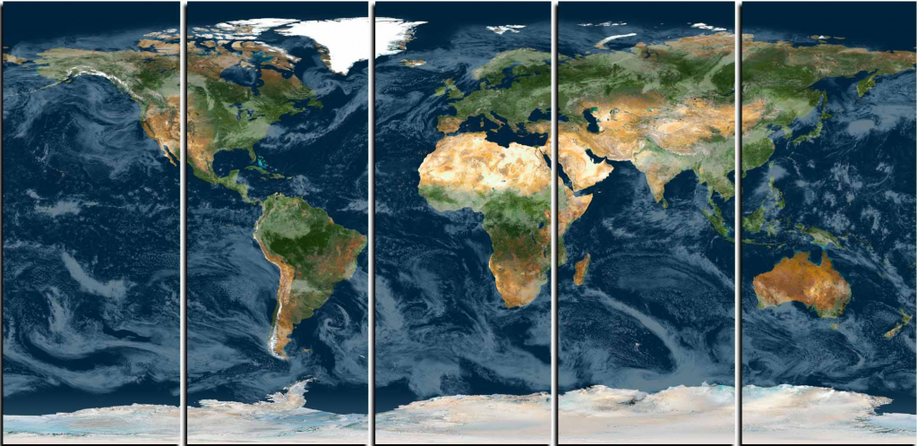 World Map Wall Art,topographical World Map,topographical Map,large with regard to Topographic World Map Printable