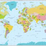 World Map With Countries And Capitals Intended For World Map With Capitals Printable