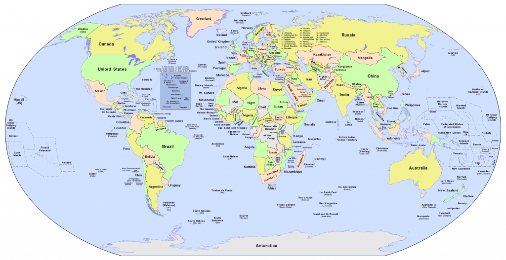World Map With Country Names Printable And Travel Information throughout World Map Printable With Country Names