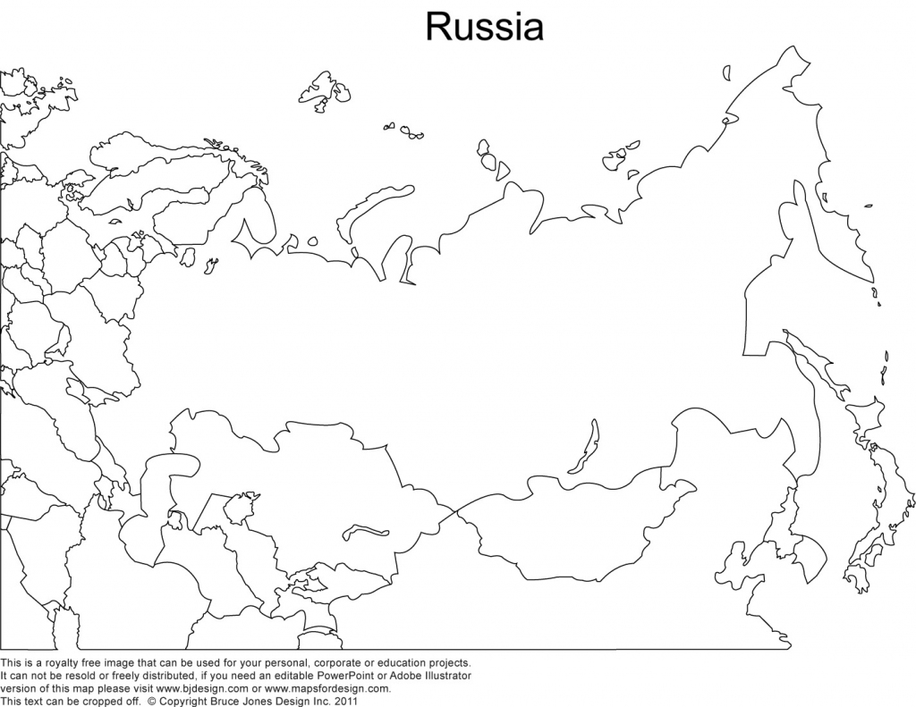 World Regional Printable, Blank Maps • Royalty Free, Jpg intended for Russia Map Outline Printable