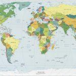 World Wall Map,map Of The World, Wall Map Of World, World Map Murals Inside Printable Wall Map