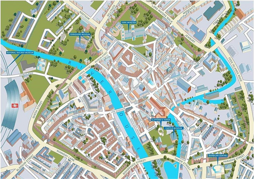 York Street Map 1000 Piece Jigsaw Puzzle Jhg with regard to York Street Map Printable