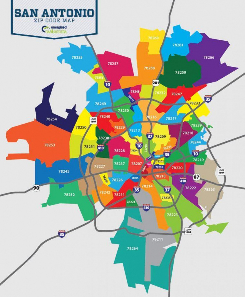 Zip Code Map San Antonio - San Antonio Tx Zip Code Map (Texas - Usa) intended for San Antonio Zip Code Map Printable